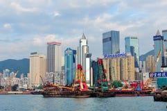 Гавань Hong Kong Стоковые Фотографии RF