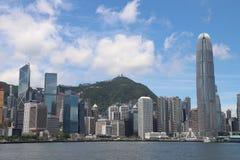 гавань Hong Kong victoria стоковая фотография rf