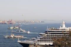 гавань istanbul Стоковые Изображения