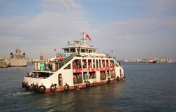гавань kaohsiung парома chijin к Стоковые Изображения