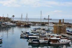 Гавань Kyrenia стоковое фото