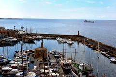 Гавань Kyrenia стоковое изображение