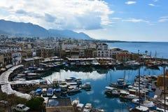 Гавань Kyrenia стоковое фото rf