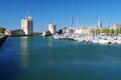 Гавань La Rochelle стоковое изображение