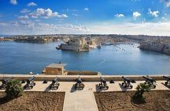 гавань malta стоковое изображение