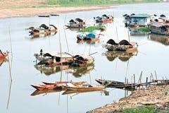 гавань mekong Вьетнам перепада стоковое фото rf