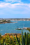 гавань newport california Стоковое Фото