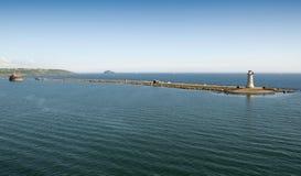 гавань plymouth волнореза Стоковое Фото