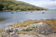 Гавань Rosroe, фьорд Killary, национальный парк Connemara, графство Ga стоковое изображение