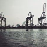 гавань rotterdam Стоковое Изображение RF
