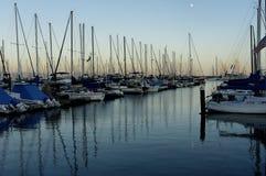 гавань santa Барвары Стоковые Фотографии RF