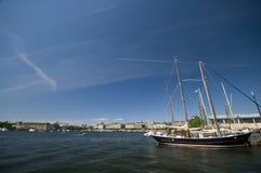 гавань stockholm стоковые изображения rf