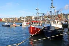 Гавань Stranraer, Шотландия стоковое фото