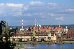 Гавань Szczecin стоковые изображения rf