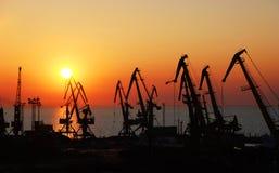 гаван восход солнца Стоковая Фотография RF