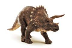Гад динозавра трицератопса юрский на белой предпосылке иллюстрация штока