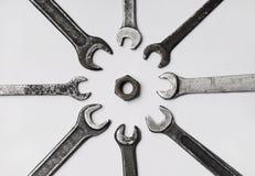 гаечные ключа винта Стоковое Изображение RF