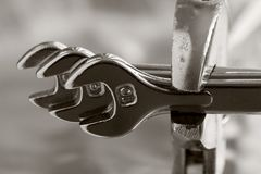 гаечные ключа 3 Стоковые Фотографии RF