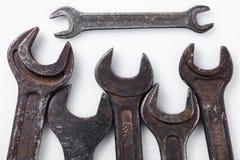 Гаечные ключи различных размеров Стоковое Изображение RF