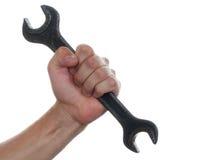 гаечный ключ руки Стоковые Изображения RF