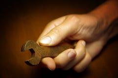 гаечный ключ руки Стоковое Изображение RF