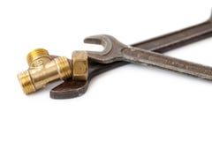 гаечный ключ стоковое изображение rf