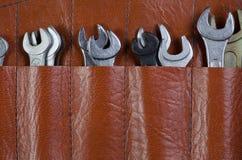 Гаечный ключ в сумке стоковые фото