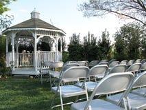Газебо венчания стоковые фотографии rf
