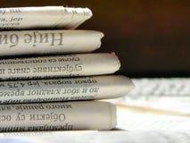 газета Стоковая Фотография