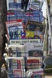 Газетный киоск Стоковые Фотографии RF
