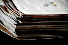 Газеты и кассеты Стоковое Изображение RF