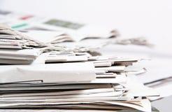 Газеты Стоковые Изображения RF