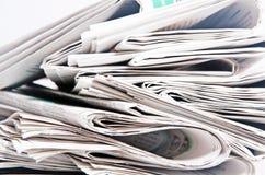 Газеты Стоковые Фотографии RF
