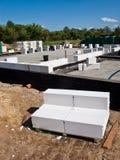 Газированная бетонная плита Стоковая Фотография RF