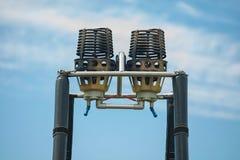 Газовая горелка для воздушных шаров стоковое фото rf