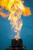 Газовая горелка воздушного шара Стоковая Фотография RF