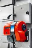 Газовая горелка на боилере combi стоковая фотография rf