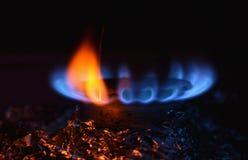 Газовая горелка иллюстрация штока