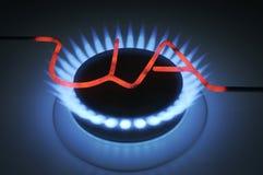 Газовая горелка Стоковые Изображения RF