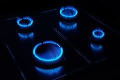 газовая плита Стоковое Фото
