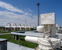 газовая промышленность Стоковое фото RF