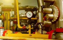 Газовая промышленность стоковая фотография