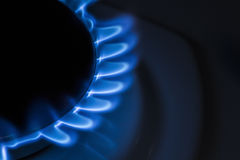 Газовая плита горелки Стоковое фото RF