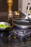 Газовая плита таблицы Стоковые Фотографии RF