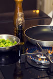 Газовая плита таблицы Стоковое Фото