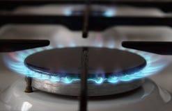 Газовая плита Стоковая Фотография