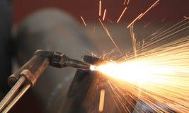Газовая резка Стоковое фото RF