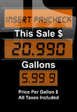 газовая цена кризиса Стоковое Фото