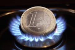 газовая цена энергии цены Стоковая Фотография