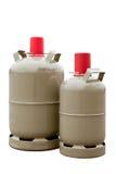 2 газового баллона Стоковая Фотография
